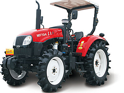 东方红MF704水田型拖拉机