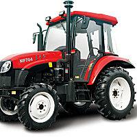 東方紅MF704輪式拖拉機