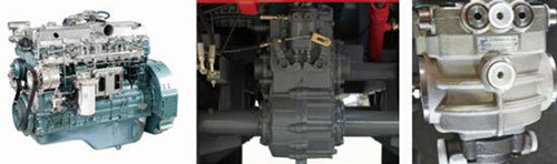 沃得銳龍4LZ-6.0E聯合收割機發動機