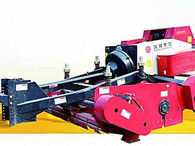 沃得9YJS-2200单轴秸秆切割揉碎方捆打捆机