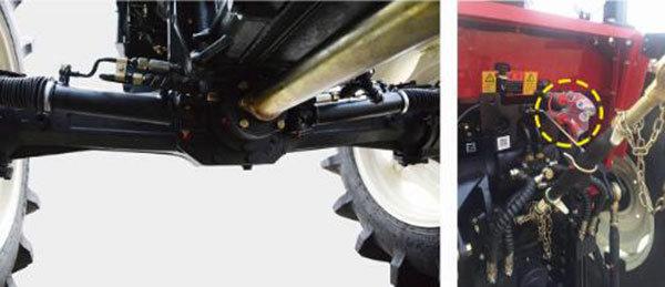 沃得奥龙WD804C轮式拖拉机细节