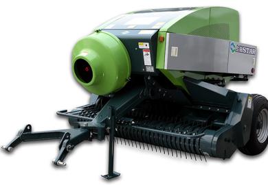 上海世達爾9YFQ-1.9Z(TIB3000)正牽引方草捆打捆機