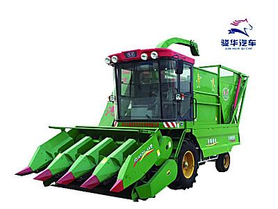 駿強4YZQ-4A型自走式莖穗兼收玉米收獲機