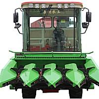 泰利农王4YZ-4自走式玉米联合收割机