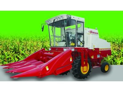 時風4YZ-4L自走式玉米收割機