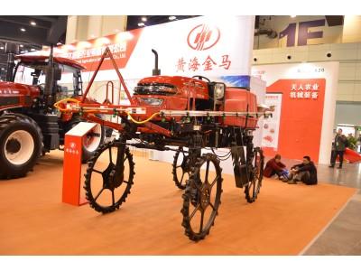 黄海金马3WPZ-700自走式喷雾机