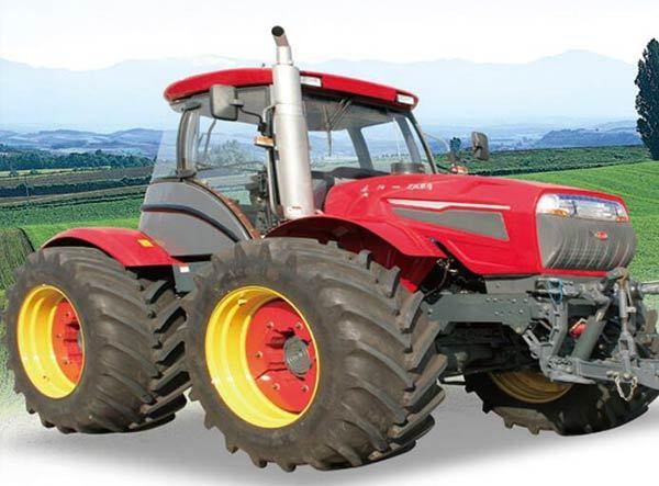 泰山多缸2604型轮式拖拉机