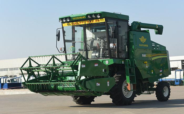 五征GA80小麥收獲機