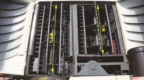 沃得超級飛龍4LZ-5.0S聯合收割機脫粒滾筒