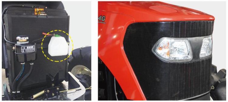 沃得奧龍WD1004C拖拉機機罩