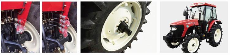 沃得奧龍WD604F拖拉機細節圖