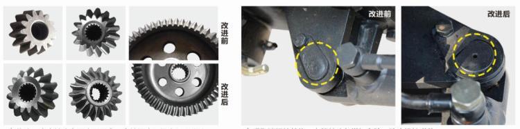沃得奧龍WD604F輪式拖拉機細節圖