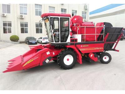 洛阳福格森4YZ-4D自走式玉米收割机