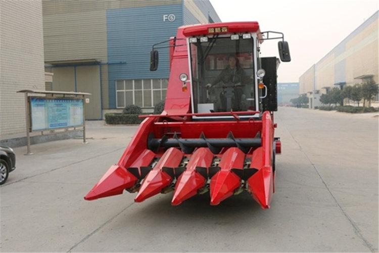 洛陽福格森4YZ-4E自走式玉米收獲機