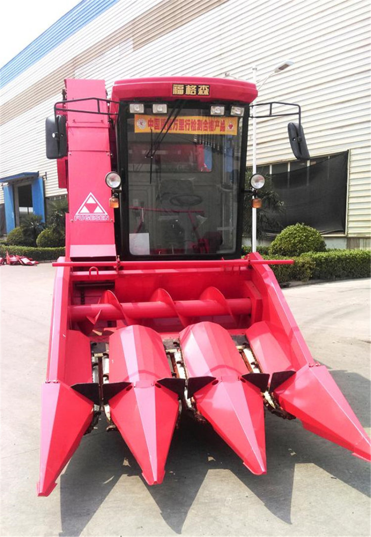 洛阳福格森4YZ-3F自走式玉米收获机