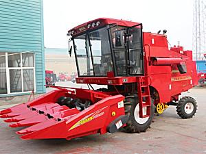 洛阳福格森4YL-5自走式玉米籽粒联合收获机