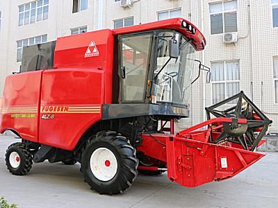 洛阳福格森4LZ-8自走式谷物联合收获机