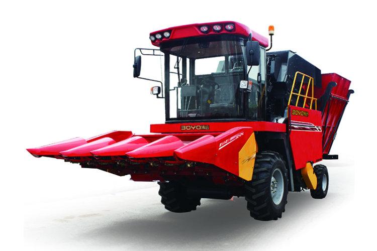 中農博遠4YZ-4D玉米聯合收割機