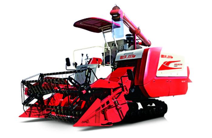 雷沃谷神RG50超越版(4LZ-5G)型水稻收割機