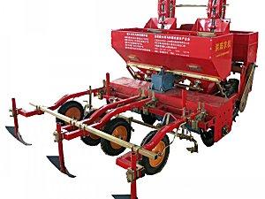 洪珠2CM-2A2型双垄双行马铃薯种植机