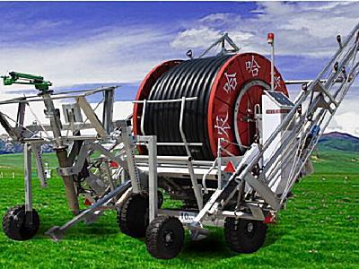 農哈哈JP75-300絞盤式噴灌機