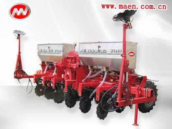 中机美诺6106A气吸式玉米免耕播种机