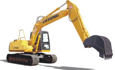 路通LT150-6履带式液压挖掘机