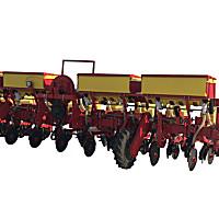 沃爾農裝2BJQD-6大壟氣吸式精量播種機