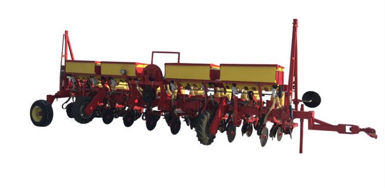沃爾農裝2BJQD-4大壟氣吸式精量播種機