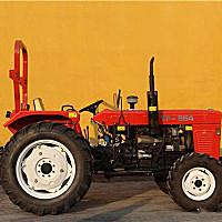 天富554輪式拖拉機