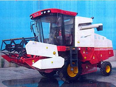 巨明4LZ-8.0A自走式谷物聯合收割機