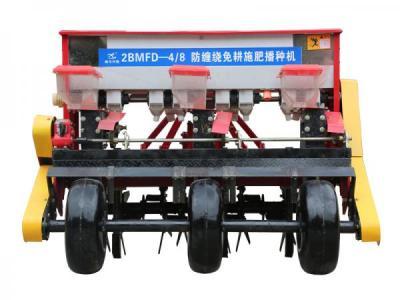 鑫乐兴隆2BMFD-4/8防缠绕免耕施肥播种机