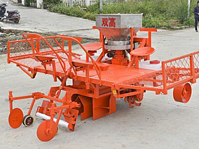 广西双高2CZ-2型甘蔗种植机