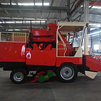 渭豐4YZBH-2自走式玉米聯合收獲機