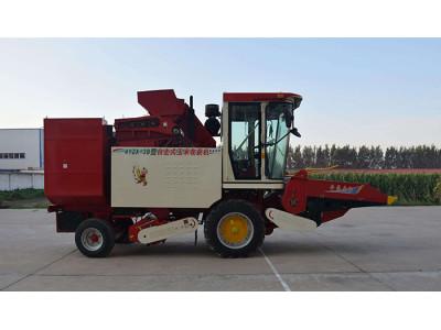 豪豐4YZX-3B自走式玉米收獲機