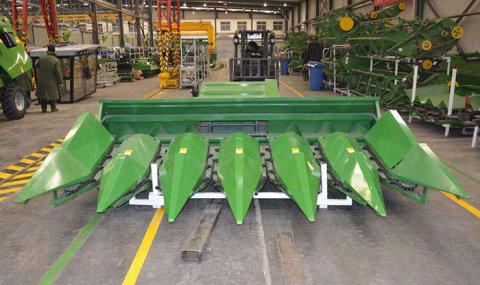 河南瑞创4YT-6玉米收获割台