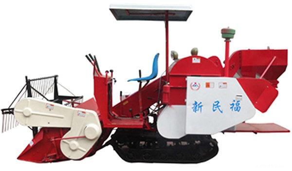 民福4LZ-1.5全喂入履帶式谷物聯合收割機