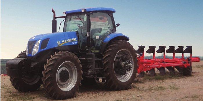 紐荷蘭T2104輪式拖拉機