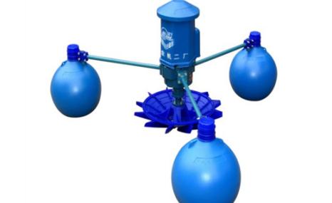 莲华山YL-1.5水车式增氧机