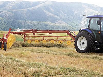 紐荷蘭HT152指盤式摟草翻曬機