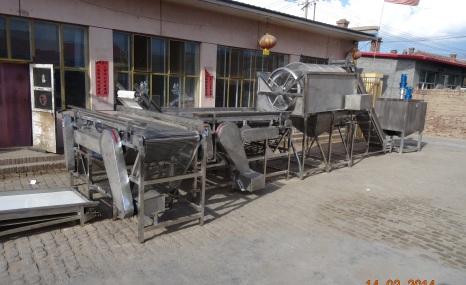 内蒙古双河牌6CXT-8型青红椒搓核分选装置