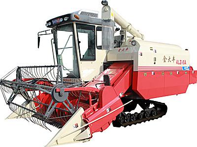 金大豐4LZ-5A履帶式全喂入谷物聯合收割機