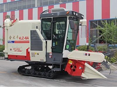 金大丰4LZ-6A履带式全喂入谷物联合收割机