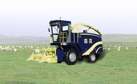 洛陽四達4QZ-10A自走式青貯飼料機