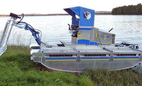 Truxor DM 5000两栖作业车-湖泊、湿地清淤
