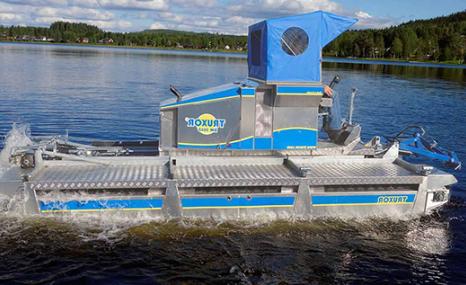 Truxor DM 5045两栖作业车-湖泊、湿地清淤