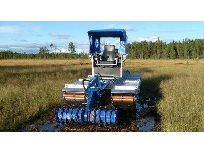 Doro旋耕機-蘆葦河床、濕地作業
