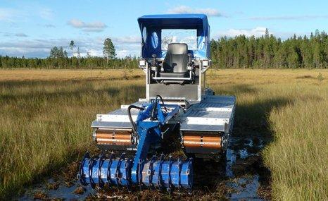 Doro旋耕机-芦苇河床、湿地作业