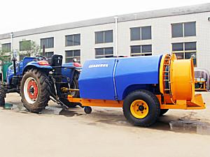 山东金原JY3WF-1600拖拉机牵引风送式果园喷雾机