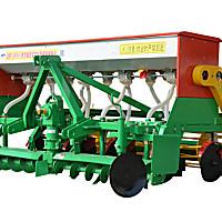 大华宝来2BFJ-9/5型小麦宽幅宽苗带施肥播种机
